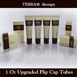 TERRA therapy SPA Collection- Refreshing Body Wash, 1 Oz./30 ml Tube with Flip Cap-Enriched Olive Oil, Pure Honey and Natural Aloe Vera (Case of 300), starting at $67.40 cs