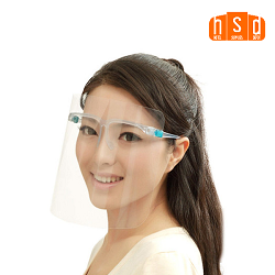 Wholesale Face Shield Glasses. Low as $25.87/Set of 9 or $2.87 each