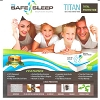 My Safe Sleep, TITAN PREMIUM Zipper Mattress Protectors, 9 in -14 in Height 10 yr warranty (low as $36.95) each