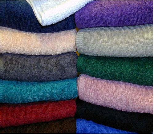 SOLID COLORS-Hotel SPECTRUM Brand, 100% Ring Spun Cotton, BATH TOWELS, 22x44