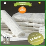 Hotel Hand Towels, Economical, 100% Cotton,16x27