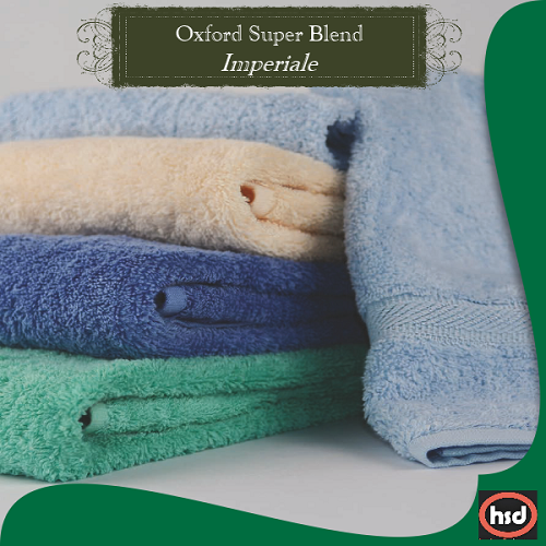 Hotel Resort - Oxford Imperiale Ring Spun Cotton, Bath Towels 27x 54