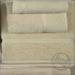 PREMIUM Collection 100% RING SPUN Cotton, BEIGE Bath Towel, 24x50