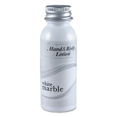White Marble Hand and Body Lotion, 0.75 oz Bottle 288/Carton, by Breck