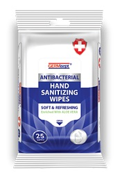 Wholesale GERMISEPT Antibacterial FDA REGISTERED Hand Sanitizing Wipe 25 ct, 50 Count Pack, starting at $50.40
