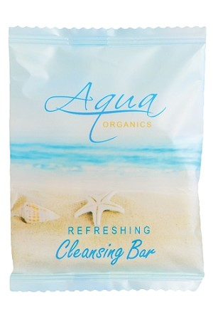 Aqua Organics Hotel Cleansing Bar Soap, #75, Pure Aloe and Organic Olive Oil, (Case of 1000) starting at $53.17 cs