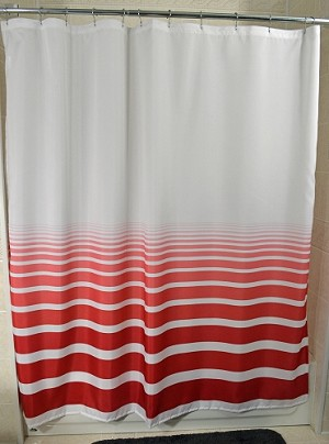 New - RuJan HORIZON-Standard Finish Hang Curtain with Sewn Eyelets 6' X 6' (70