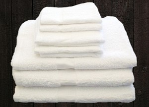 Towels may have a slight manufacturing flaw!
