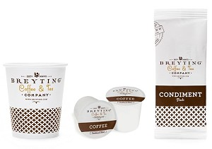 200 Count - BREYTING - K-CUP Single Serve Roasted, DeCAF (Low as $66.45 cs)