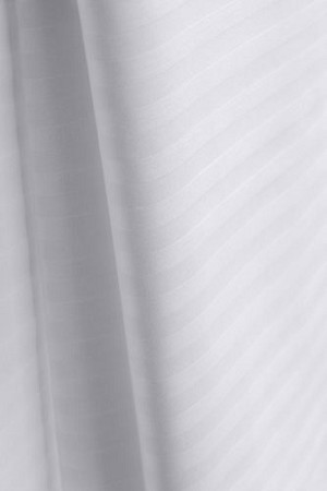 COMFORTWILL®  Tone-on-Tone White Hotel Sheet by Standard Textile, QUEEN Flat Wide 90x120