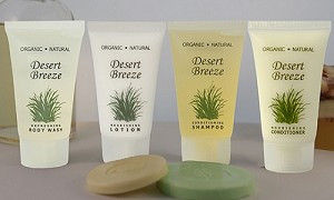 HOTEL-BODY LOTION EARTH Conscious Desert Breeze, 1.0 oz/30 ml TUBE, (Case of 300), Low as $ 56.95/Cs