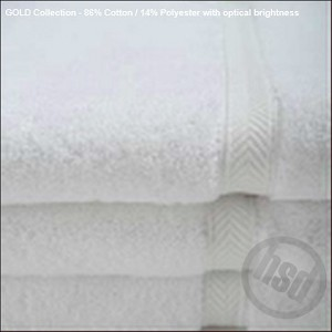 HEAVY BATH SHEETS/POOL TOWELS, White 35x70