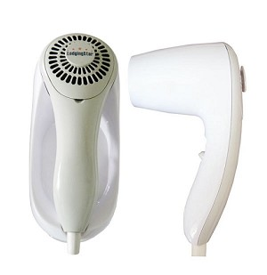 Hair dryer with night light