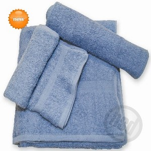 SPA SALON AND GOLF -NAVY BLUE Hand Towels, 100% RING SPUN Cotton, 16