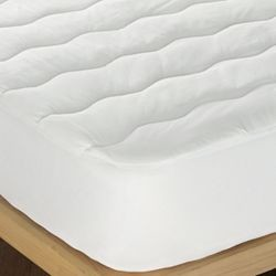 60in x 80in - Queen Quilted Spandex Fitted Mattress Pad